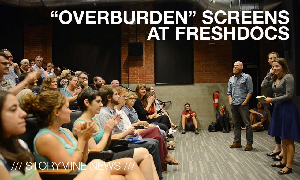 Storymine News /// Overburden at FreshDocs