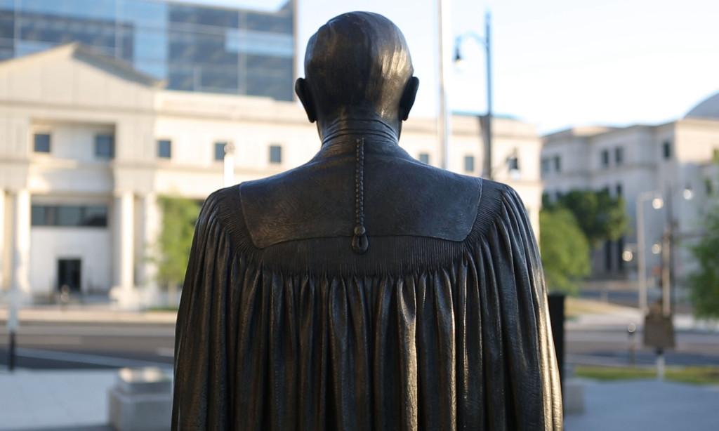 Montgomery Judge Statue