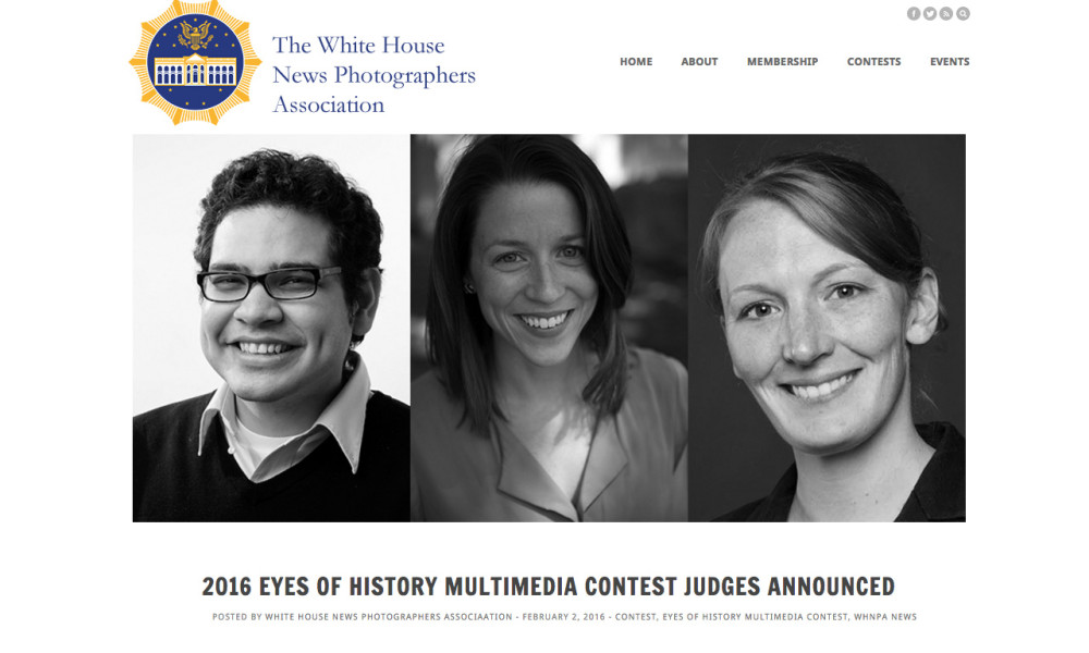 Catherine Orr Will Join Judges of 2016 WHNPA Multimedia Contest
